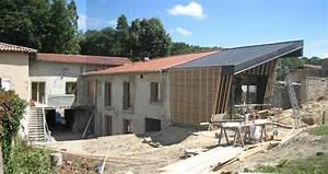 Extension Maison Ancienne : extension bois guide complet photos prix au m 2018 ~ Louise-bijoux.com Idées de Décoration