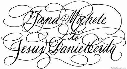 Calligraphy Fonts Alphabet Font Cursive Tattoo Script