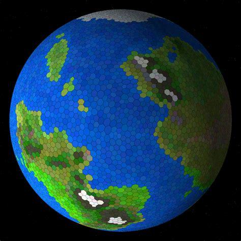 experilous procedural planet generation