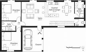 plan maison 150 m2 avec 5 chambres ooreka With plan de maison 6 chambres