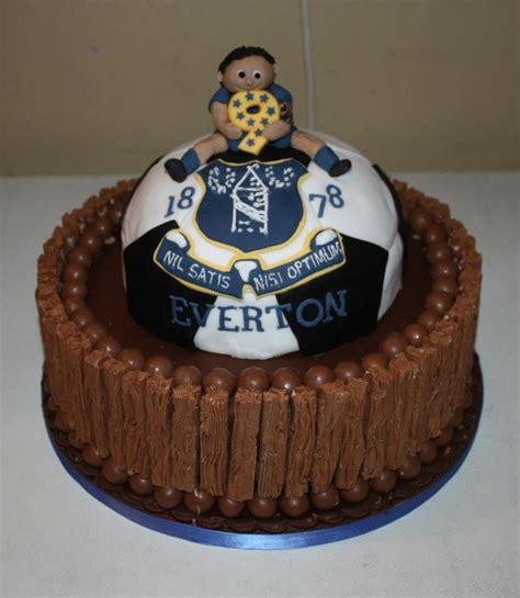 everton cake footie footie footie football