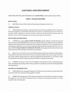 last wills and testaments free templates - best photos of template of last will and testament