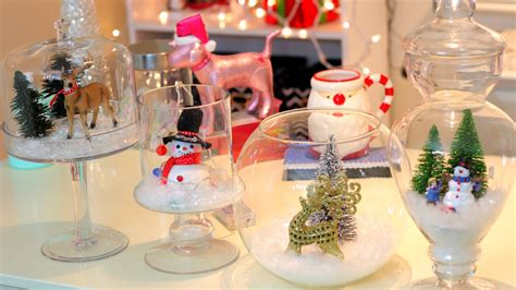 diy christmas winter room decor christmas jars youtube