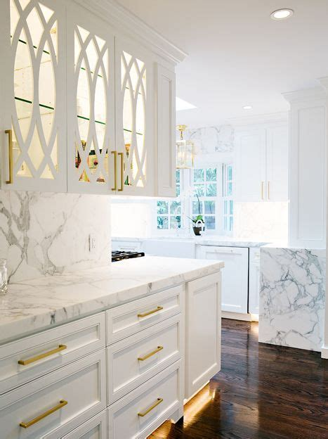 Butler Pantry with Eclipse Mullion Cabinets, Transitional