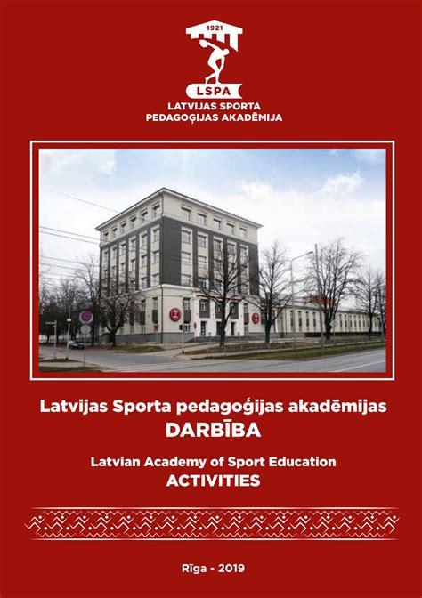 LSPA darbība 2019 - LASE activities 2019 by Jānis Nicmanis ...