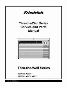 Friedrich Ue-12   Aircondition Service Manual