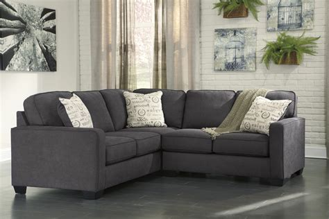 alenya charcoal 2 piece sectional sofa for 625 00