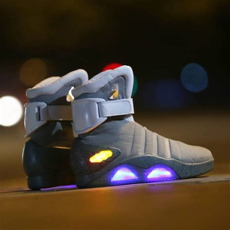 back to the future light up shoes 10 led shoes that light up at the bottom and change colors