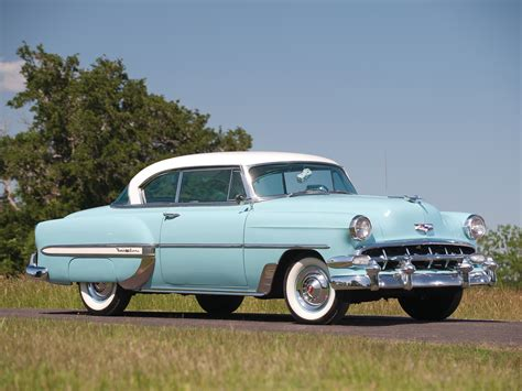 1954 Chevrolet Bel Air Sport Coupe (c2454 1037d) '12195354