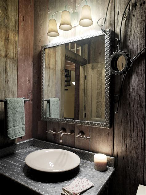 rustic bathroom ideas for small bathrooms splendid rustic bathrooms ideas for small space designs with iron mirror frames hang on rustic