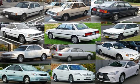 Toyota Camry History history of the toyota camry brandt toyota