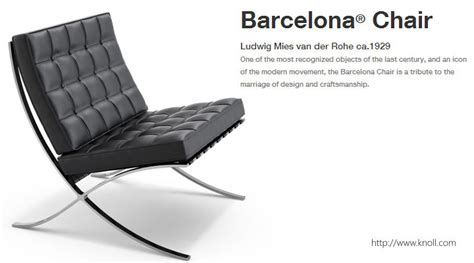 barcelona 2017 barcelona chair by mies der rohe