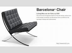 Barcelona 2018 Barcelona chair by Mies van der Rohe