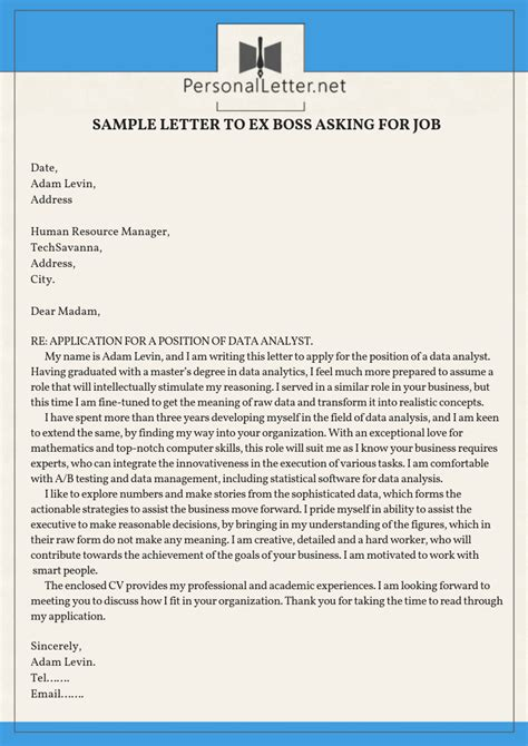 rehire letter  employer reapplication letter samples