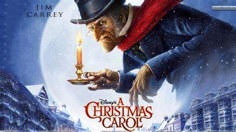A Christmas Carol Jim Carrey Cover Poster Wallpaper