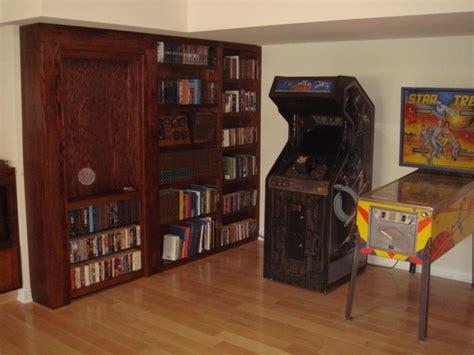 Secret Room Bookcase by Invisidoor Door Bookcase Family Room Milwaukee