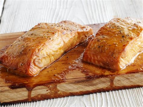 cedar plank salmon recipe food network