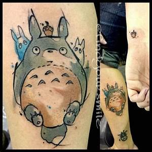 Watercolor tattoo My neighbor Totoro | Foreign things ...