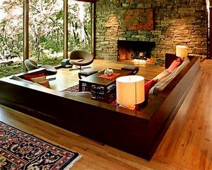 Living Room Interior Design and the Natural Stone