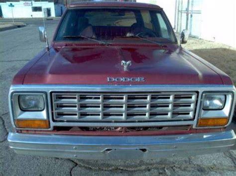 Wichita Craigslist Farm And Garden by 1985 Dodge Ramcharger For Sale In Wichita Kansas 2 000