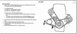How Do You Replace The A  C Belt On 97 Honda Crv  I Had A