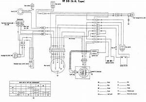 St50 Wiring Diagram For The Uk Or British Model  Honda St