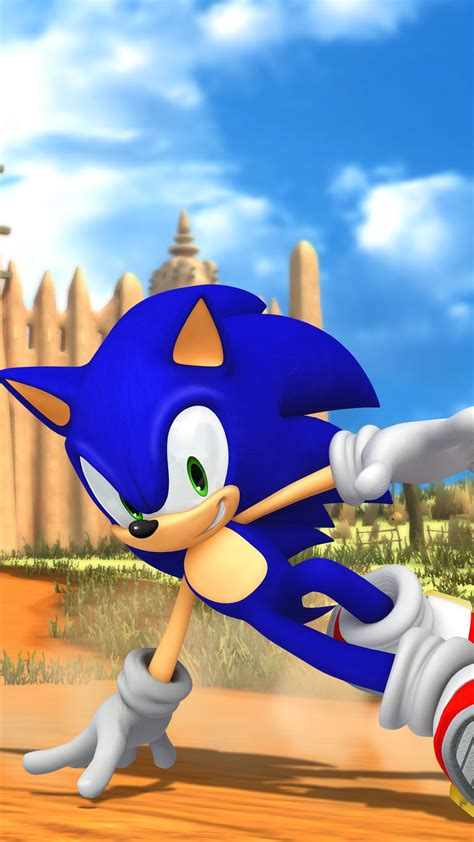 Sonic Speed Wallpaper for iPhone 11, Pro Max, X, 8, 7, 6 ...