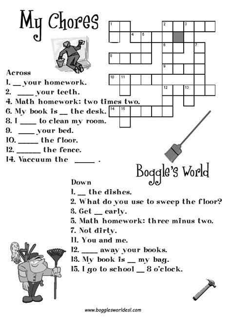 crosswords english  teachers  tofiga mammadova