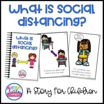 What is Social Distancing? A Story For Children in 2020