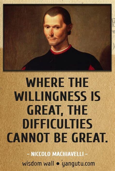 Quotes From Niccolo Machiavelli Quotesgram