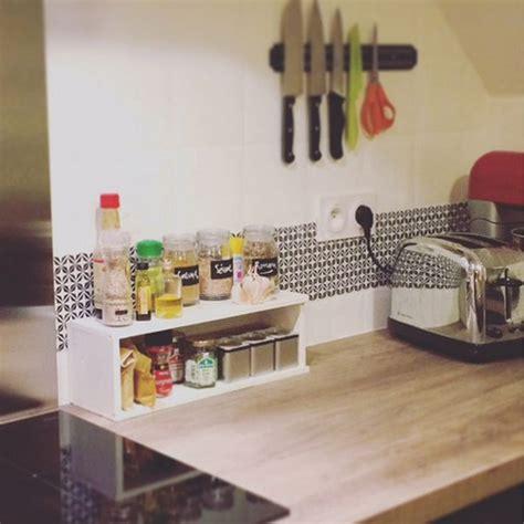 domino de cuisine adhésif crédence carrelage de cuisine dominoté by pauline