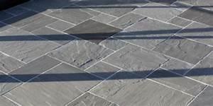 Kandla Grey Indian Sandstone Paving Slabs  U2013 Mix Size Patio