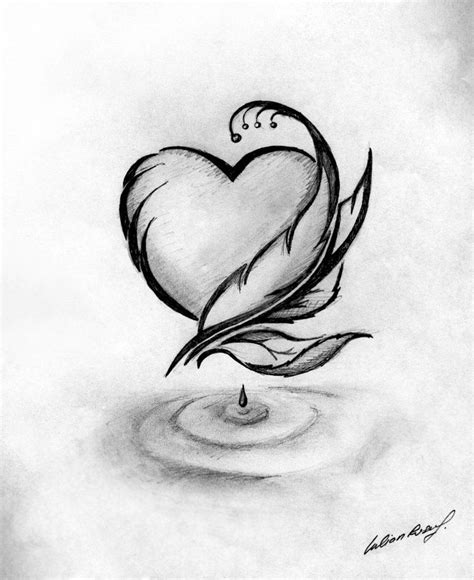 Pics For > Simple Black And White Drawing Ideas Art