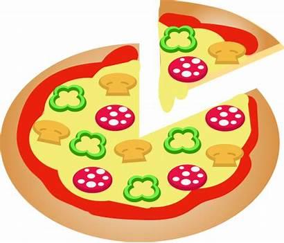 Pizza Clipart Pencil Jamur Openclipart Gambar Domain
