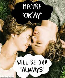 The Fault in Our Stars images Hazel and Gus...maybe okay ...