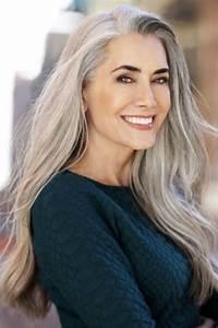 Coupe Homme Cheveux Gris : cheveux gris longs cheveux gris 55 coiffures qui ne font pas mamie ~ Melissatoandfro.com Idées de Décoration