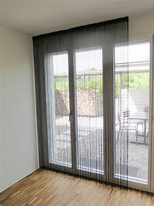 Blickdichte Vorhänge Verdunkelung : fadenvorhang garda hochwertiger schwarzer t rvorhang ~ Indierocktalk.com Haus und Dekorationen