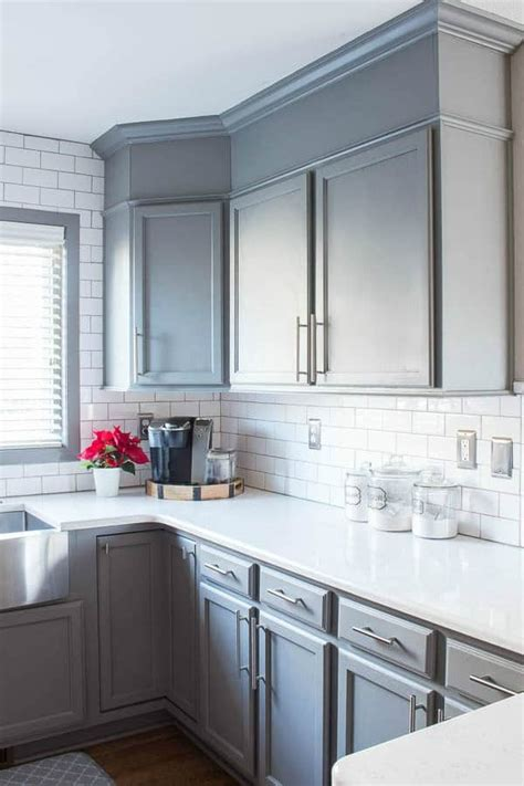 Cabinets Paint Grade by How To Easily Add Height To Your Kitchen Cabinets