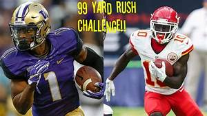 JOHN ROSS VS TYREEK HILL WHO CAN GET A 99YD RUSH FIRST