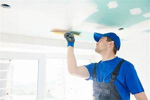 Comment Enduire Un Plafond : comment enduire un plafond ~ Mglfilm.com Idées de Décoration
