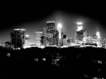 Minneapolis Skyline Wallpapers Night Msp Cities Twin