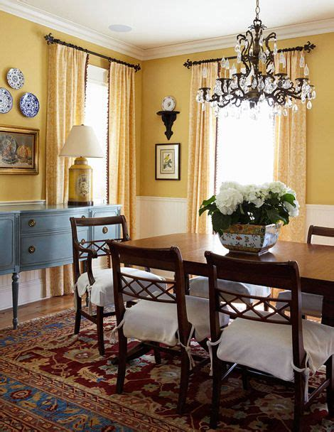 Best 25+ Yellow Dining Room Ideas On Pinterest Yellow