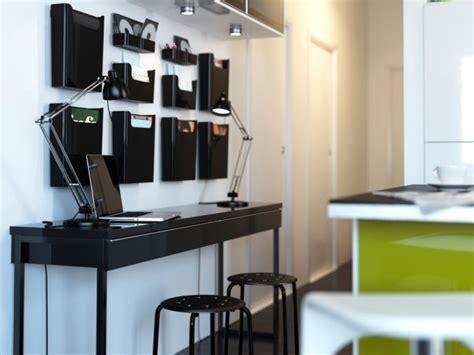 bureau moderne ikea bureau à domicile moderne aménagement et décoration