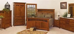 Mission, Style, Bedroom, Furniture, Sets