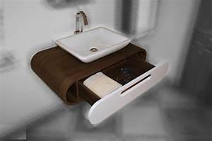 Waschbeckenunterschrank Hängend Aufsatzwaschbecken : waschbecken unterschrank h ngend preisvergleiche ~ Markanthonyermac.com Haus und Dekorationen