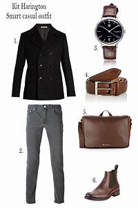 Kit Harington from Game of Thrones - smart casual outfit