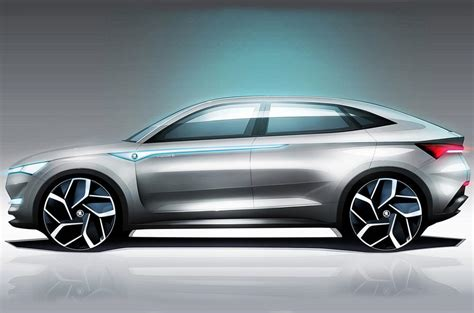Skoda Vision E Electric Suv Concept Interior Revealed