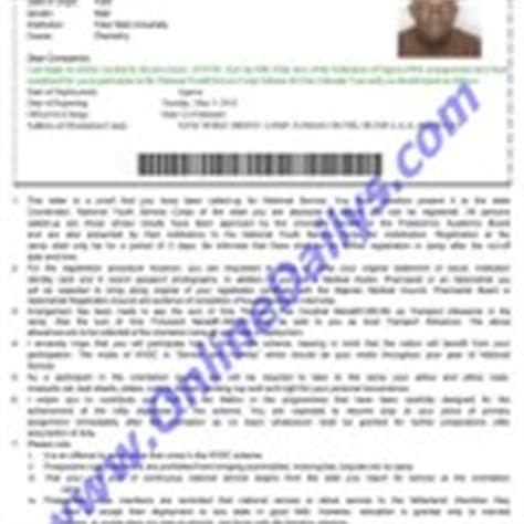 Resume Registration Nysc by Date For Nysc Batch B 2016 Call Up Letter Printing Posting
