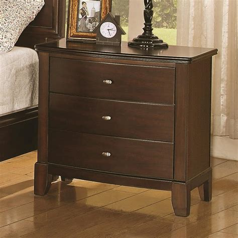 Brown Nightstand by Brown Wood Nightstand A Sofa Furniture Outlet Los