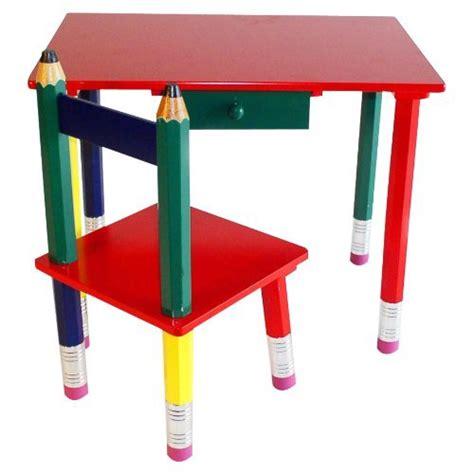 beck international children s wooden pencil desk and chair